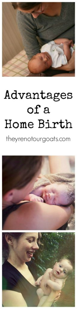 Learn about the real advantages that would lead someone to choose a home birth over a hospital birth.