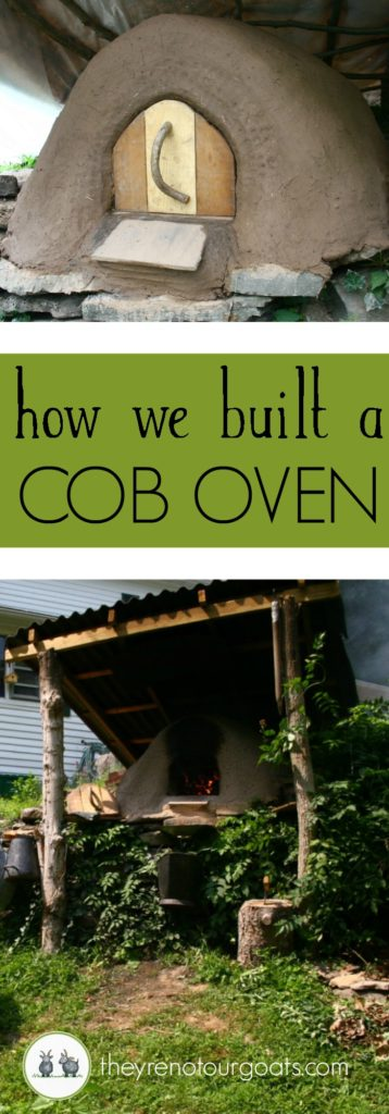 How we Built a Cob Oven