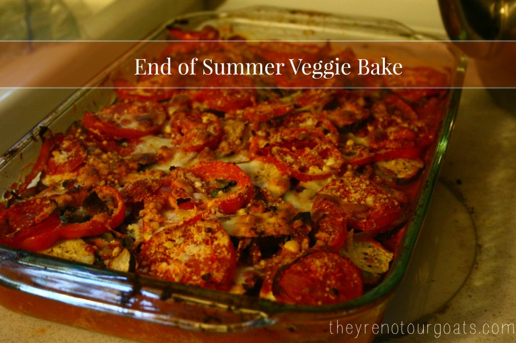 summer veggie bake