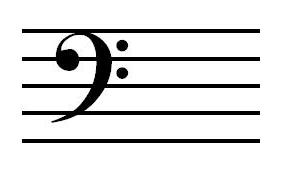 how to write a d tetrachord in bass clef