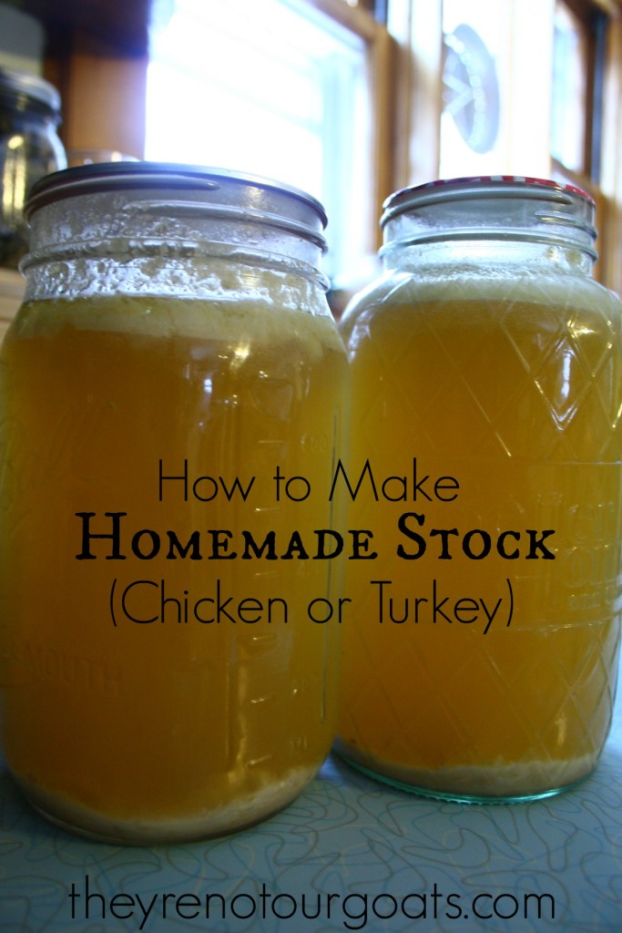 How to Make Homemade Stock