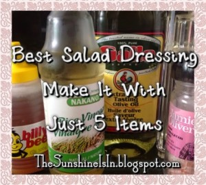 best salad dressing sunshine