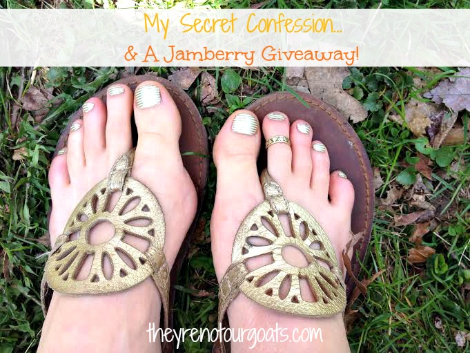 My Secret Confession... And A Jamberry Giveaway