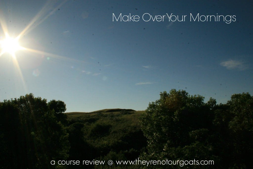 Make Over Your Mornings Review