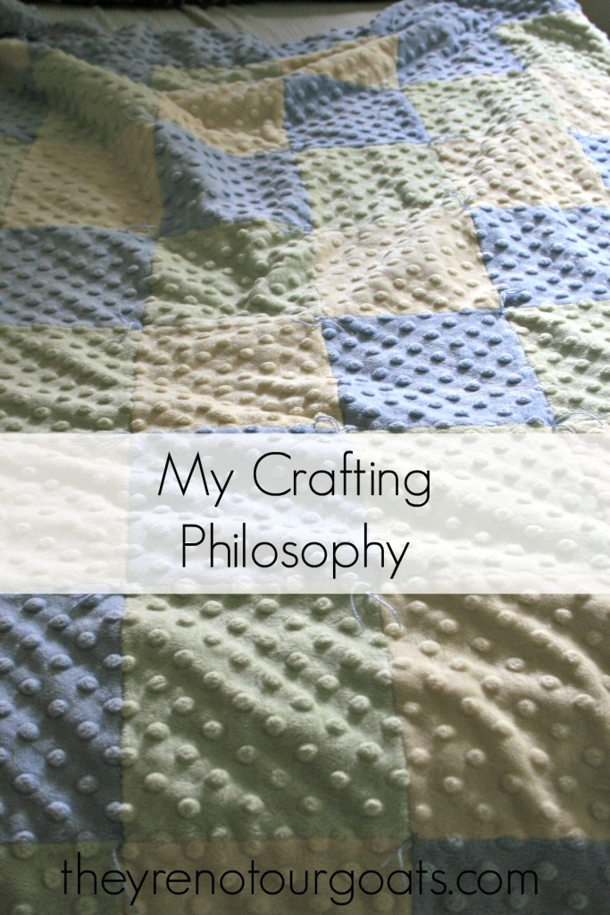 My Crafting Philosophy