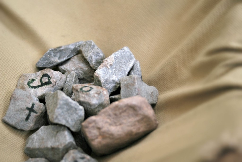 Pile of Alphabet Rocks