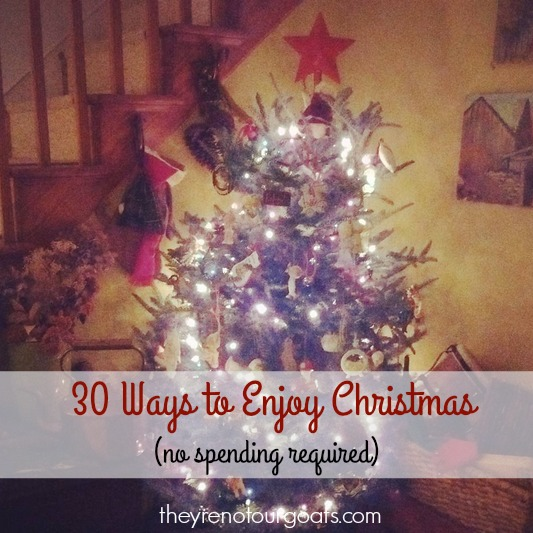 30 Free Ways to Enjoy Christmas