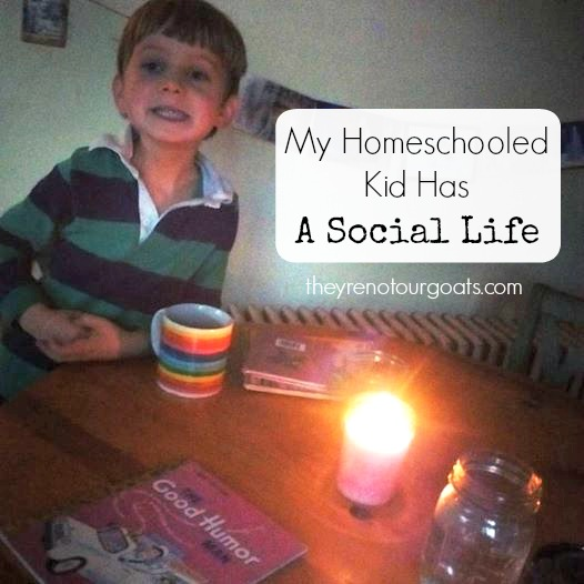 My Homeschooled Kid Has a Social Life
