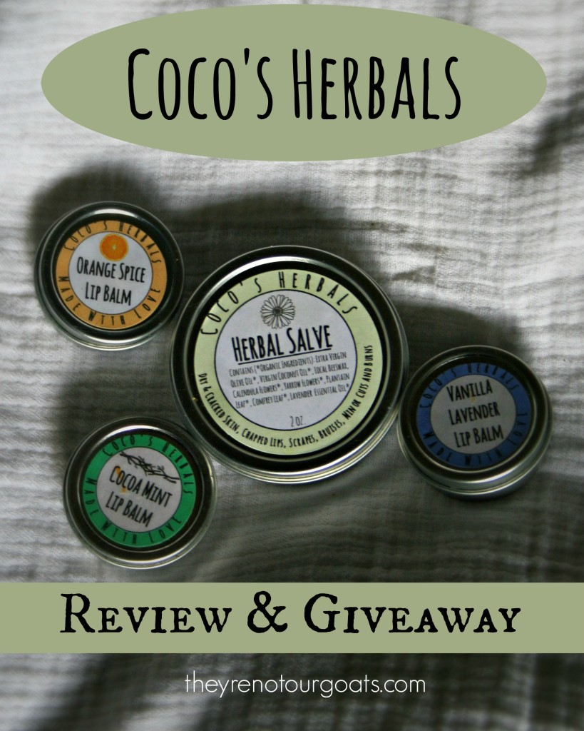 Coco's Herbals Review & Giveaway