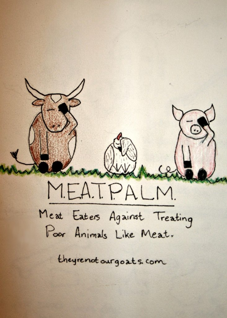 MEATPALM- meat eaters against butchering