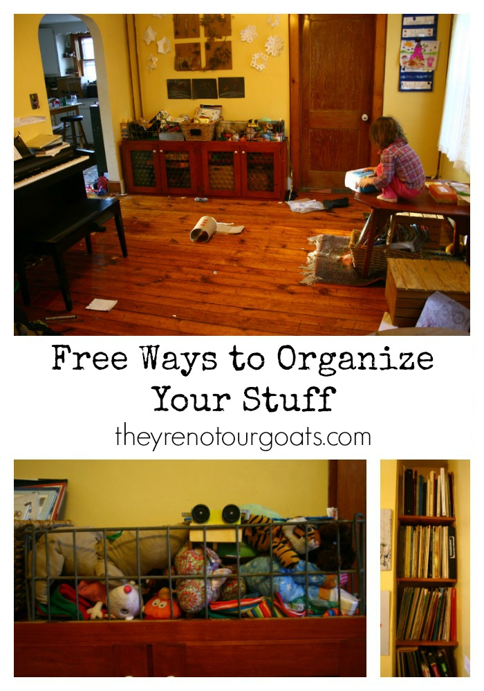 Free Ways to Organize Your Stuff