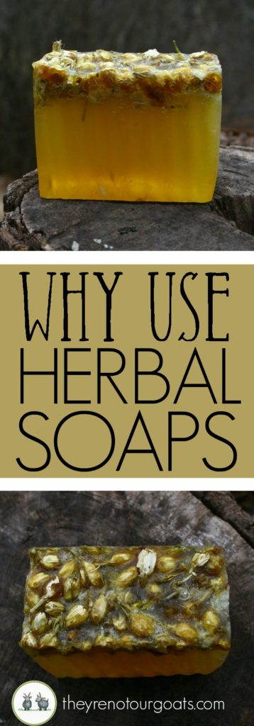 Why you should make the switch to an herbal based soap instead of one using fragrance oils.