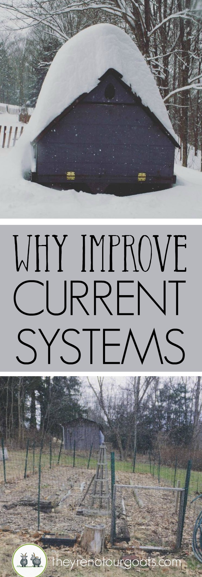 Why we are taking time to improve the systems we have instead of adding new ones.