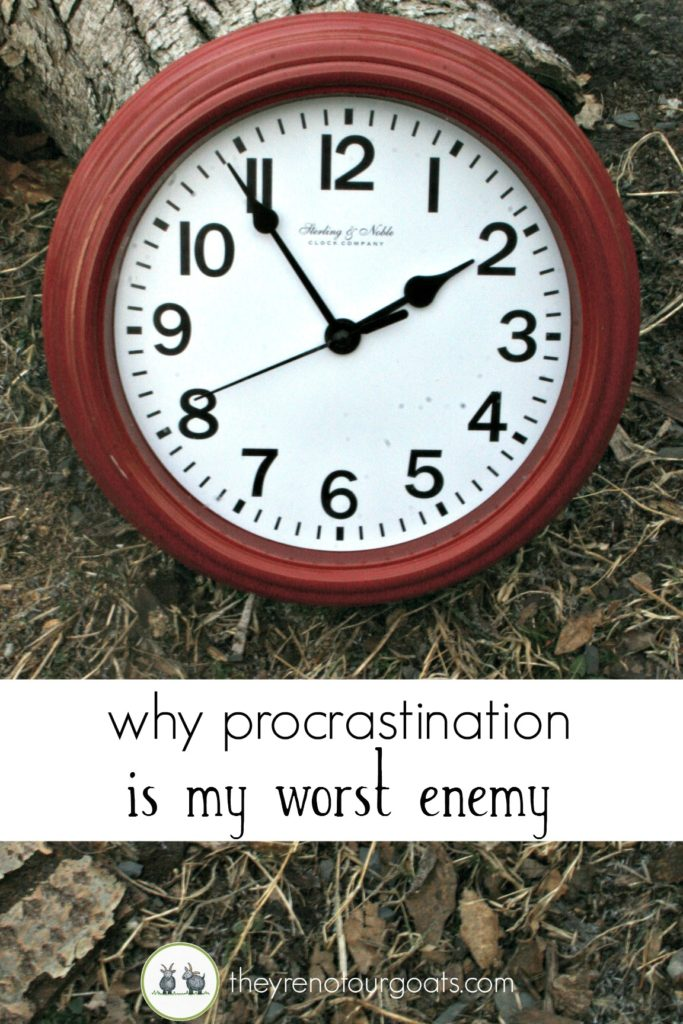 why procrastination is my worst enemy small