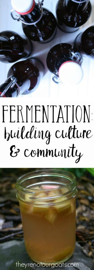 Build into your culture and community with fermentation!